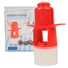 Deluxe Cherry Pitter Pits Olive Stoner Stone Remover Easy Squeeze Kitchen Tool