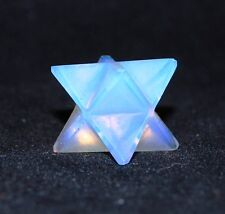 REIKI ENERGY CHARGED OPALITE MERKABA STAR NATURAL CRYSTAL HEALING PROMOTES CALM