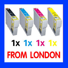 4 Ink Cartridges for Epson Expression Home XP235 XP332 XP335 XP432 XP435