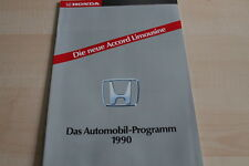 115048) Honda Prelude - CRX - Accord - Legend Prospekt 1990