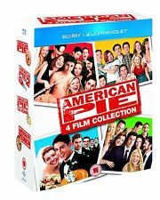 AMERICAN PIE Collection 1 2 3 The Wedding Reunion Blu-ray Box Set New SEALED