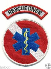 "RESCUE DIVER 3.5"" PATCH SET"