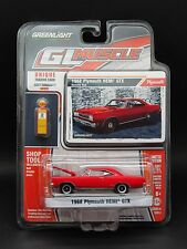 Greenlight 1/64 1968 Plymouth HEMI GTX with tools