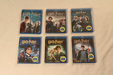 SAGA HARRY POTTER. BLUE RAY