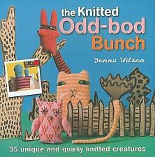 THE KNITTED ODD-BOD BUNCH Donna Wilson Knitting Book NEW