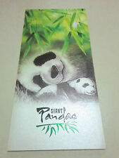 PANDA STAMP SET Singapore China Jia Jia Kai Kai