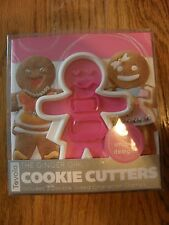 Tevolo Ginger Girl Gingerbread Christmas Cookie Cutter-6 different stamps-man