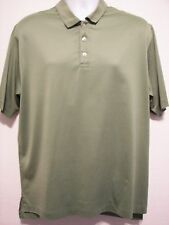 BROOKS BROTHERS 346 GREEN POLO CASUAL DRESS MENS SZ LARGE COOL TO TOUCH SUMMER