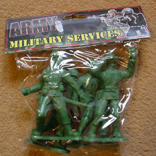 4 VERY LARGE SCALE AMERICAN SOLDIER FIGURES USA MARINES WW2 NEW IN PACKET AIRFIX