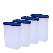 Signoraware Modular Oval Containers/Canisters (2300ml/2.3 Ltr each) - Set of 4