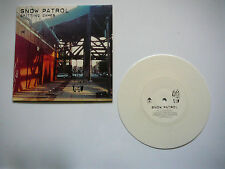 """SNOW PATROL COLORED VINYL 2003 PROMO 7"""" RECORD  Never played"""