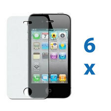 6 iPhone 4 4G 4S Anti-Glare Matte Screen Protector Cover Shield