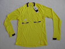 Adidas Referee 12 Soccer Jersey Formotion LS Yellow Purple Men's Small New