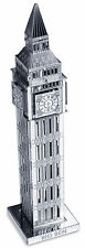 Big Ben Tower 13 Teile 3D-Metall-Bausatz Silver-Edition Metal Earth 1019