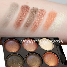 Make-Up Augenschminke in 6 Farben EyeShadow Lidschatten Damen Kosmetik