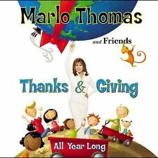 Thanks & Giving All Year Long (Companion CD) Marlo Thomas and Friends, Sheryl C