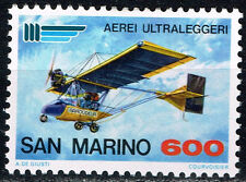 San Marino Aviation History Aircraft stamp 1982 MLH