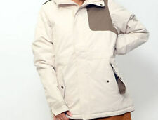 686 Women 4eva-after Snowboard Jacket (S) Ivory Diamond Dobby