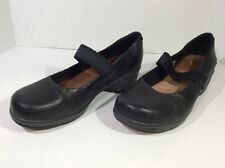 KEEN Black Leather Sz 8.5  Mary Jane Women's Z5-90