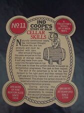 IND COOPES BURTON ALE STORY OF BEER SERIES 1 BEER MAT No11