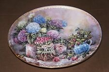 Oval Plate by Lena Liu, Garden Grace in the Lena Liu's Country Accents