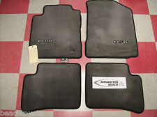 2003-2005 ECHO 4DR W/O REAR HEATER CARPET FLOOR MATS DARK GRAY GENUINE TOYOTA