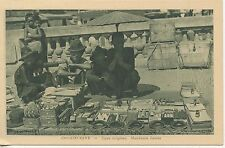 POSTCARD / ASIA ASIE COCHINCHINE TYPES INDIGENES MARCHANDS FORAINS
