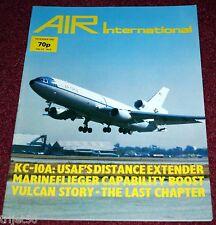 Air International 1982 December KC-10,Marineflieger,Sea Hawk,Vulcan