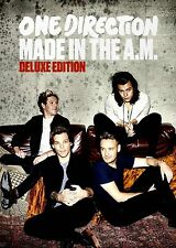 NEW CD BOOKLET  SET //  ONE DIRECTION - MADE IN THE A.M. - DELUXE EDITION