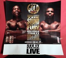 "1997 MIKE TYSON VS EVANDER II "" THE BITE FIGHT "" FIGHT POSTER"