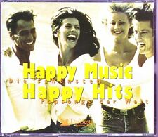 HAPPY MUSIC HAPPY HITS  -  Reader's Digest   4 CD Box  ( ohne Booklet )