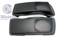 Matte CVO Style 6 x 9 Speaker Lids 4 Harley Touring Saddlebag,Metal Mesh Grills