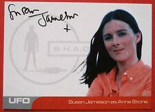 UFO-Susan Jameson (SJ1) como piedra de Anne-muy limitada tarjeta autógrafo