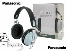 Panasonic Rp-htx7 Diadema Retro over-the-ear Monitor Auriculares Azul rp-htx7-a1