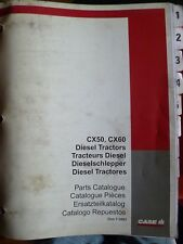 Case Schlepper CX50 + CX60 Ersatzteilkatalog