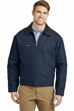 Cornerstone Duck Cloth Work Jacket, Brand New! Men's 2xl, Navy, Warm!