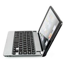 Aluminum Wireless Bluetooth Keyboard Case Cover for Apple iPad Mini Silver