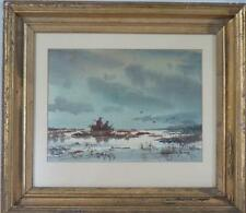 MARSHALL JOYCE WATERCOLOR PAINTING: Lot 173C