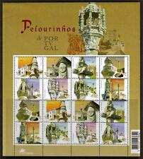 PORTUGAL MNH 2001 SG2878-2885 PILLORIES SHEET OF 16