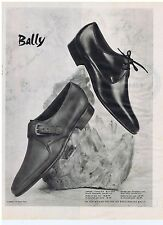 PUBLICITE ADVERTISING 104 1960 BALLY chaussures pour Hommes