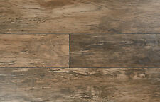 "Wood Look Tile Flooring 6"" x 36"" Reclaimed Wood Dark"