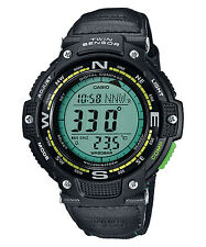 Casio SGW100B-3A2, Digital Compass, Thermometer, Nylon Strap Watch, 5 Alarms,