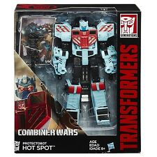 TRANSFORMERS GENERATIONS COMBINER WARS VOYAGER PROTECTOBOT HOT SPOT