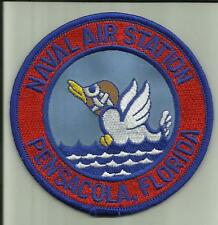 NAVAL AIR STATION PENSACOLA FLORIDA .U.S.NAVY PATCH FIGHTERJETS HELICOPTER USA