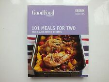 BBC Books Good Food 101 Meals for two cook book, Tried and tested recipes, VG