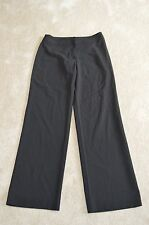 Armani Collezioni Black Suit Work Wool Trousers Womens Size 40 UK 8/10 NEW
