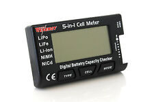 5-in-1 Intelligent Cell Meter Battery Capacity Checker ESC Servo PPM Tester