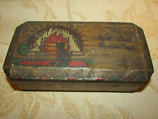 Antique Collectable W & R. Jacob & Co. ( L'Pool ) Ltd. Biscuit Tin