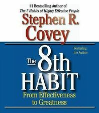 The 8th Habit: From Effectiveness to Greatness, Covey, Stephen R., New Books
