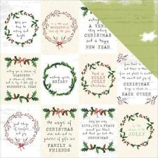 "Kaisercraft - Home For Christmas: 12"" x 12"" D/Sided Paper: Season"